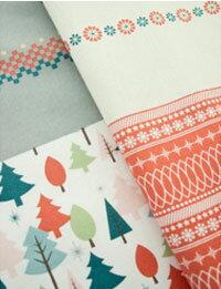 【コットン】ハッピーウィンタークリスマス