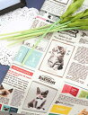 生地 布 【 コットン 】キャットマガジン【 手作り 手芸 動物柄 ネコ柄 】【 お買い物マラソン 特別価格 】