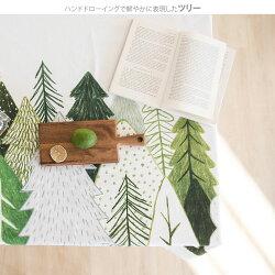 【コットン】ハッピーツリーガーデンオックス/ファブリックウォールデコ