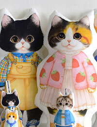 """【コットン】CAT_5_""""キャットファイブ""""(6Type)"""