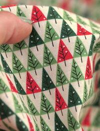【コットン】クリスマスパインツリーコットン