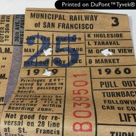 【 Printed on DuPont(TM)Tyvek(R)】Old Railway(オールドレイルウェイ)