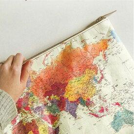 【Printed on DuPont(TM)Tyvek(R)】世界地図 (デュポン(TM)タイベック(R)に印刷しました) 手芸 手芸用品 【 商用利用可 】【 お買い物マラソン 特別価格 】