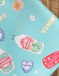 【かばん生地】ビバジュースKABAN_Fabric(生活防水生地/幅150cm)