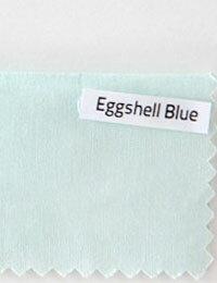 【コットン】Eggshell_Blueピュアオーガニックコットン(抗菌防臭加工済み)