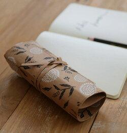 【紙の生地】ヴィンテージクラフトペーパーファブリック3種類・洗えます