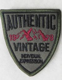 【ワッペン】AUTHENTIC_Vintage_ワッペン/ミリタリーワッペン