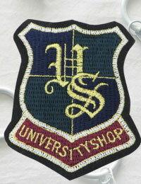 【ワッペン】エンブレム(University_shop)ワッペン