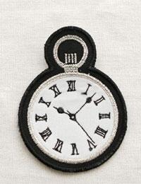 【ワッペン】名探偵ホームズの時計