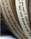 ◆メルマガ会員様限定!サンクスセール50%OFF!◆【テープ】15mmコットンレタリング Ver2 (ブラウン系)