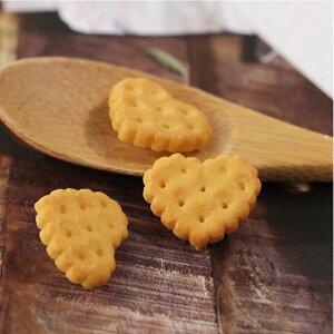 【ボタン】ハートレトロビスケットボタン(1個)Retro Biscuit Button series【 商用利用可 】