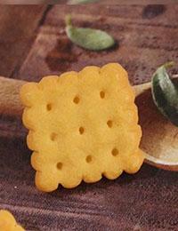 【ボタン】スクエアレトロビスケットボタン(1個)Retro_Biscuit_Button_series