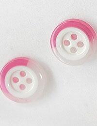 【ボタン】イチゴミルクボタン(2個)Milk_Button_series