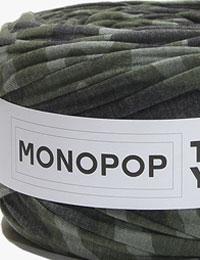 【Tシャツヤーン】ミリタリー/モノポップMONOPOPTシャツヤーン/ズパゲッティスタイル