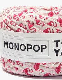 【Tシャツヤーン】フラミンゴアイボリー(FLAMINGO_IVORY)モノポップMONOPOPTシャツヤーン