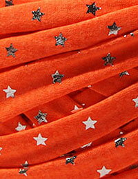 【Tシャツヤーン】シルバースターネオンオレンジ(SILVER_STAR_NEON_ORANGE)モノポップMONOPOPTシャツヤーン