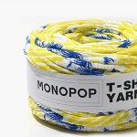 【ニューアイテム!SALE!!特別価格】【Tシャツヤーン】アロハイエローブルー(ALOHAYELLOWBLUE)モノポップMONOPOP