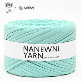 ( Tシャツヤーン )Pastel Mint Muji ナニューニヤーン(NANEWNI YARN)
