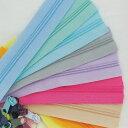 【パーツ】パステルオーダーカット3号樹脂ファスナー90cm (10color) ファスナー オーダーカットファスナー 3号樹脂 ハ…