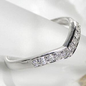 pt950【0.2ct】10ダイヤモンドリング