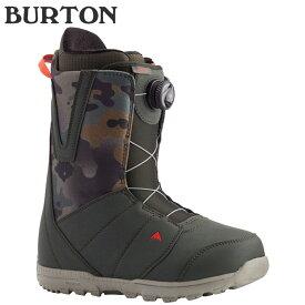 [特典アリ][対象商品とSETでお得][日本正規品]スノーボード ブーツ バートン モト ボア ワイドフィット 2021 BURTON MOTO BOA WIDE FIT Dark Green Camo スノボー 20-21 男性 メンズ▼[その他]