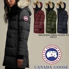 [送料無料]カナダグース レディース ダウンコート CANADA GOOSE Shelburne Parka Fusion Fit 3802LA シェルバーン パーカー ダウンジャケット ウーマンズ 女性用