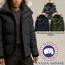 [送料無料]カナダグース ダウンジャケット CANADA GOOSE Wyndham Parka Fusion Fit 3808MA ウィンダム パーカー ダウン コート アウター メンズ 男