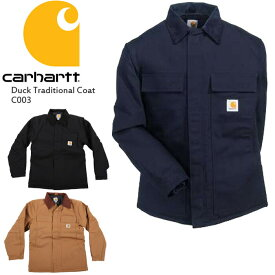 カーハート ジャケット CARHARTT Duck Traditional Coat C003 コート カバーオール ダック トップス▲[ブラック][ブルー][ブラウン]ds-Y