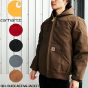 カーハート CARHARTT QFL Duck Active Jacket QUILTED FLANNEL-LINED J140 ダック アクティブジャケット ...