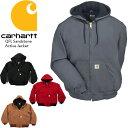 CARHARTT QFL Duck Active Jacket J140 カーハート ジャケット パーカー型リブジャケット