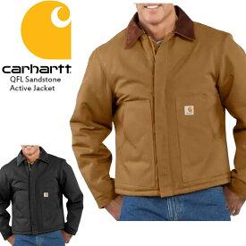 カーハート ジャケット CARHARTT DUCK TRADITIONAL JACKET J002 トラディショナルジャケット ダック トップス▲[ブラック][ブラウン]ds-Y