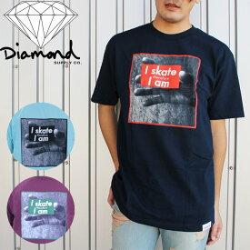 [旧品/アウトレット]ダイアモンドサプライ Tシャツ DIAMOND SUPPLY I Am T Shirts C13-P119 フォトT 半袖 メンズ 男性 在庫処分 sale セール▲[ブルー][レッド][ZRC]