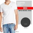 Diesel 2枚パックTシャツ UMTEE-MICHAEL 2PACK パックT 下着 Tシャツ 2枚組 ds-Y