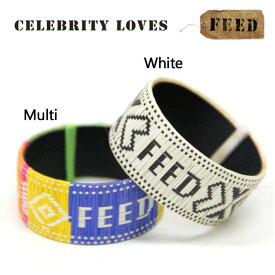 [在庫処分][ネコポス送料\200]FEED WIDE FEED 5 WOVEN BRACELET FCOLOB コロンビア ワイドブレスレット フィード ds-Y