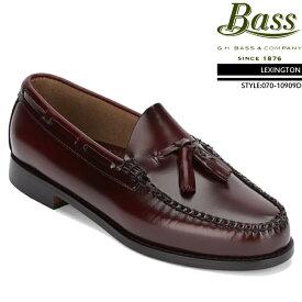 [送料無料]ジーエイチバス GHバス コインローファー G.H Bass LEXINGTON Brush off leather 070-10909D レキシントン ローファー ビジネスシューズ 革靴▲[ブラウン]ds-Y