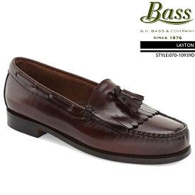 [送料無料]ジーエイチバス GHバス コインローファー G.H Bass LAYTON Brush off leather 070-10934D レイトン ローファー ビジネスシューズ 革靴▲[レッド]ds-Y
