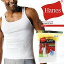 [キャンペーン★対象商品で送料無料]ヘインズ タンクトップ 6枚組み+1枚 Hanes White A-Shirt +1 Free Bounus Pack 37…