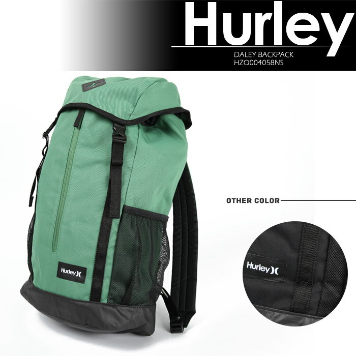HURLEY バックパック DALEY BACKPACK HZQ004058NS ハーレー 鞄 カバン デイパック バッグ