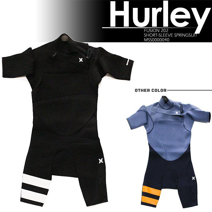 [あす楽]ハーレー MFS0000390 FUSION 202 SHORT-SLEEVE SPRINGSUIT HURLEY ウェットスーツ 水着 フュージョン スプリング スーツ