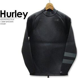 ハーレー ウェットスーツ HURLEY ADVANTAGE PLUS 1.5MM WINDSKIN JACKET CK5287 BLACK 水着 ウインドスキン アドバンテージ タッパー サーフィン サーフ[ZRC]