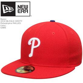 ニューエラ 2018 ON-FIELD 59FIFTY Philadelphia PHILLIES GAME NEWERA オーセンティック フィラデルフィアフィラリアーズ 帽子 キャップ MLB メジャーリーグ ベースボール