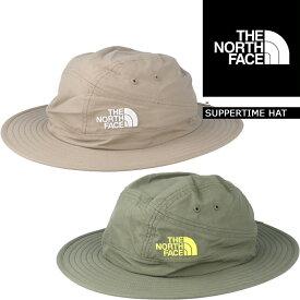 [送料無料]ノースフェイス ハット 帽子 THE NORTH FACE SUPPERTIME HAT バケットハット サファリハット キャニオンエクスプローラーハット▲[グリーン][ベージュ]