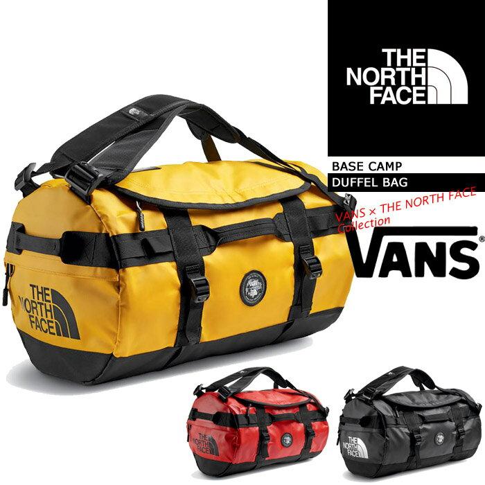 バンズ × ノースフェイス M VANS X TNF BASE CAMP DUFFEL BAG VN0A36YF THE NORTH FACE コラボ コラボレーション ベースキャンプダッフル 鞄 バッグ