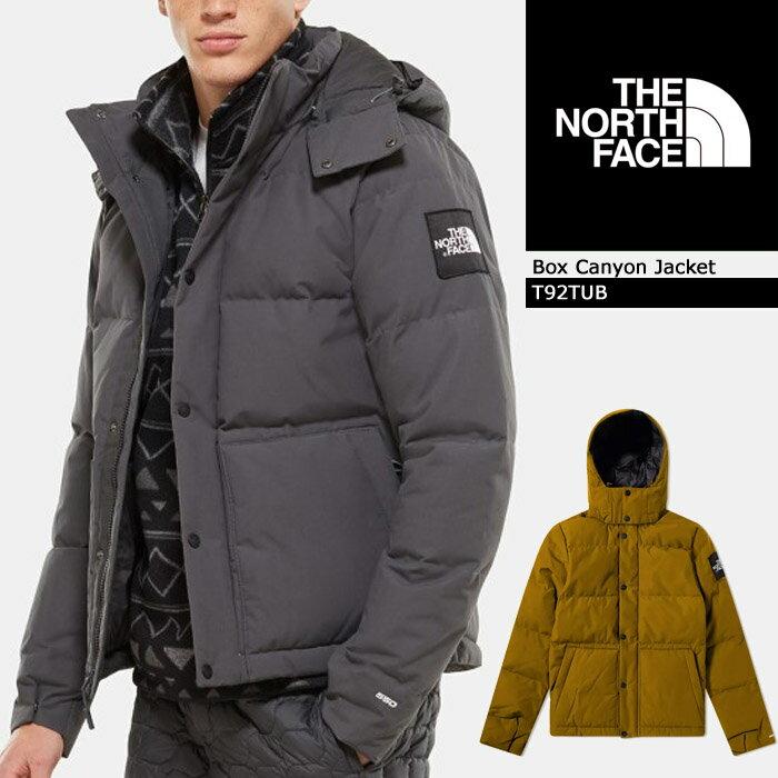 ノースフェイス Box Canyon Jacket T92TUB THE NORTH FACE ボックスキャニオンジャケット ダウンジャケット ダウンパーカー