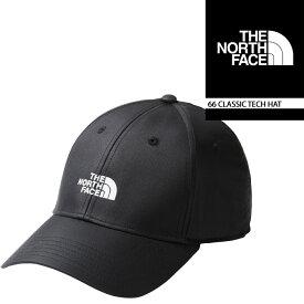 ノースフェイス 帽子 キャップ THE NORTH FACE 66 CLASSIC TECH HAT ローキャップ キャップ 紫外線防止 日焼け対策▲[ブラック]