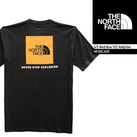 ノースフェイス Tシャツ THE NORTH FACE S/S Red Box TEE TNF Black Yellow(AKX) NF00CA0F ボックスロゴT 半袖Tシャツ 街着 キャンプ 大きいサイズ▲[ブラック]