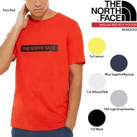 ノースフェイス 半袖ロゴTシャツ THE NORTH FACE S/S LIGHT TEE NF0A3S3O ミニ スクエア ボックス ロゴTシャツ▲[ホワイト][ブラック][グレー][レッド][イエロー][ZRC]
