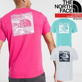 ノースフェイス Tシャツ THE NORTH FACE S/S REDBOX CELEBRATION TEE NF0A2ZXE レッドボックスTシャツ 半袖 メンズ 男性 ▲[ホワイト][ピンク][ブルー]
