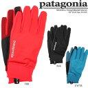 パタゴニア Wind Shield Gloves 33335 Patagonia ウインドシールドグローブ 手袋 スマートフォン対応可 グローブ タッチスクリー...