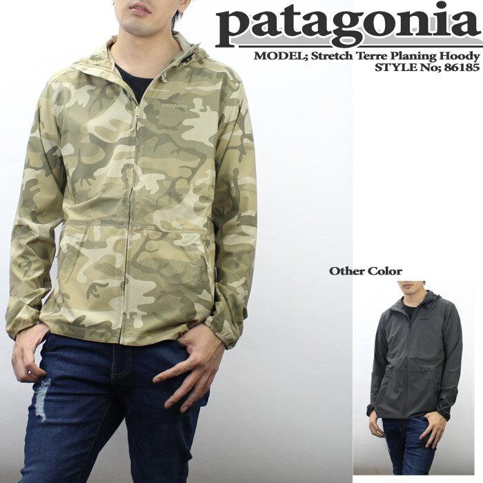 パタゴニア Stretch Terre Planing Hoody 86185 Patagonia ストレッチテラプランニングフーディー ウインドブレーカー シェルジャケット